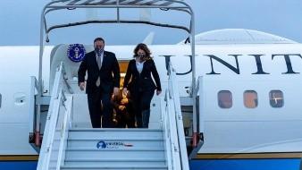 Pompeo empieza en París con Macron una gira que le llevará a Oriente Medio