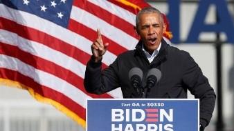 El expresidente de Estados Unidos Barack Obama (2009-2017) descartó aceptar un hipotético puesto en el futuro gobierno que forme el que fuera su vicepresidente, Joe Biden, tras ganar las elecciones del pasado 3 de noviembre y bromeó: