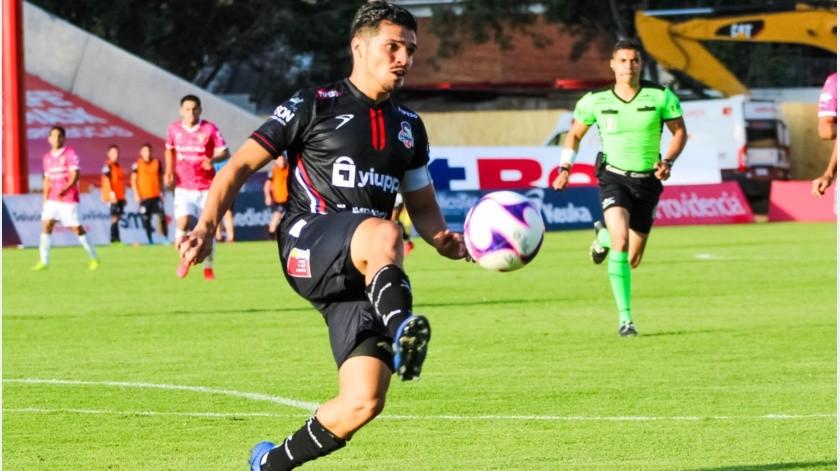 Miguel Vallejo cerró la goleada de Cimarrones.(Cortesía)