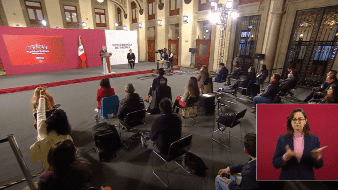 El caso Cienfuegos acaparó la mayor parte del tiempo en la conferencia matutina de este día del presidente Andrés Manuel López Obrador.