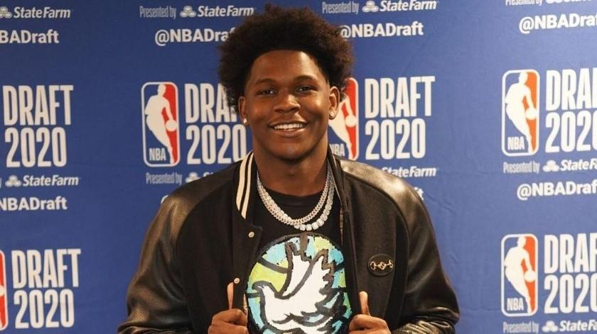 Edwards, la primera selección del Draft de la NBA 2020 confesó que prefiere la NFL(Instagram @theanthonyedwards_)