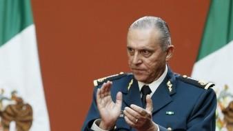 El general Salvador Cienfuegos tras ser notificado de su investigación se retiró a su hogar