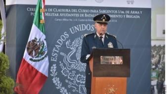 En 32 minutos Cienfuegos concluyó con diligencias de FGR y se retiró: Cronología