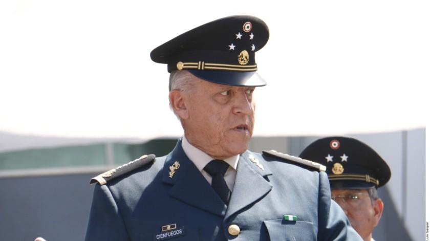 Salvador Cienfuegos Zepeda, ex secretario de la Defensa Nacional.(ELIMPARCIAL/Archivo)