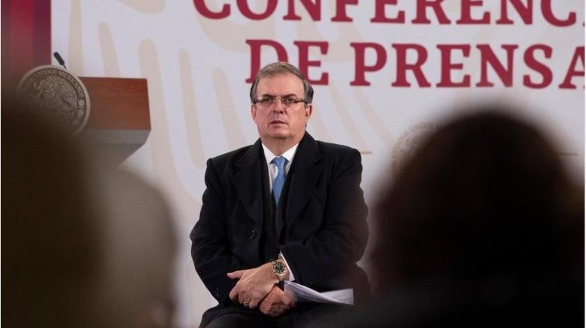 El canciller afirmó que México no defendió a una persona, sino al principio de cooperación entre ambas naciones.(Gobierno de México)