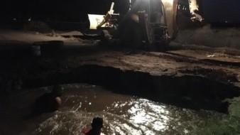 Por quiebre de tubería, medio Ciudad Obregón se quedó sin agua