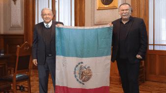 Jesús Ochoa visitó a AMLO.