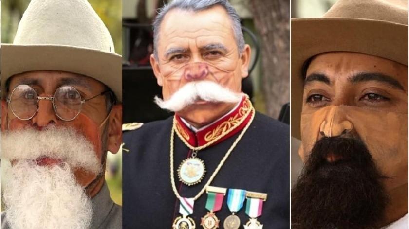 ¡Bigotones! Cubrebocas de Revolución usarán militares en desfile del 20 de noviembre(Especial)