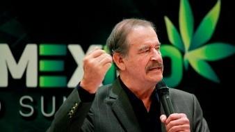 Hacen tendencia a Vicente Fox por legalización de la mariguana