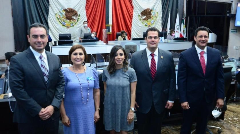 Diputados locales del PRI en Sonora.(EL IMPARCIAL)