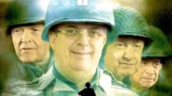 """Uno de los memes más populares sobre el retorno del ex secretario de Defensa Nacional Salvador Cienfuegos, fue el que hizo referencia a la película: """"Salvando al soldado Ryan"""""""