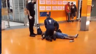 El incidente que derivó en la muerte de una persona fue captado en video.