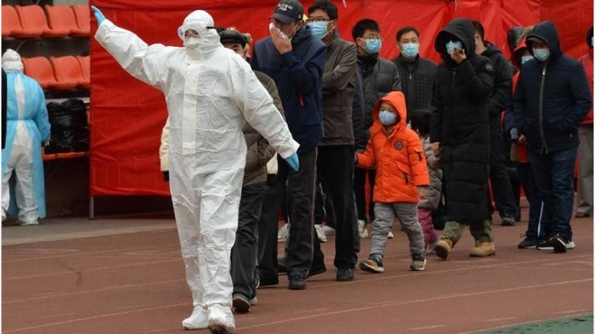 El número total de infectados activos y con síntomas en la China continental quedó en 296, de los cuales uno se encuentra en estado grave(EFE)