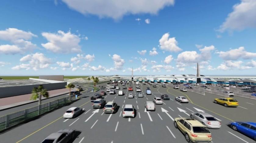 Con el proyecto, el cruce de San Diego a Tijuana pasará de  27 a 35 carriles.