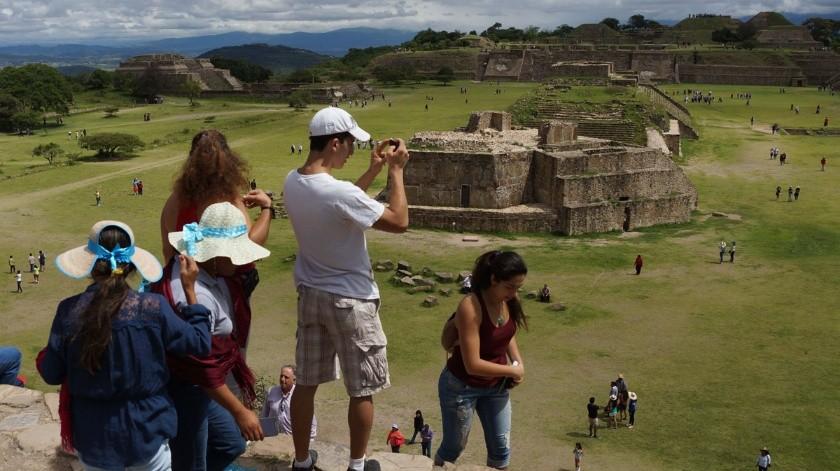 Hasta ahora, la única zona de la que han anunciado su reapertura en Oaxaca es Monte Albán.(El Universal)