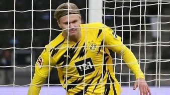 ¡El amo de la Bundesliga! Haaland marca cuatro goles ante el  Hertha de Berlín
