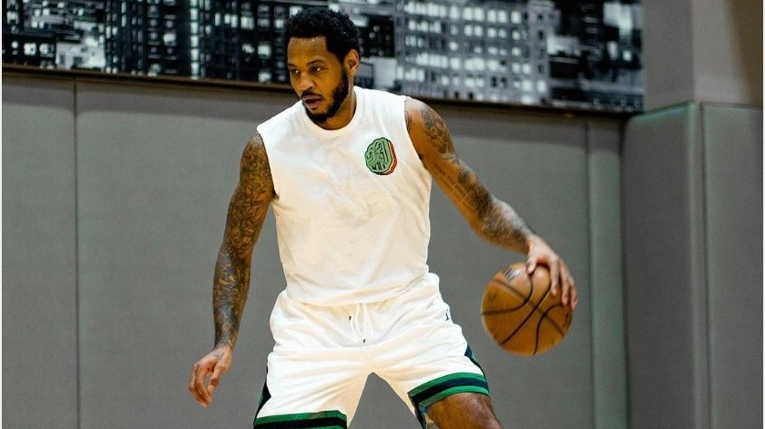 Carmelo Anthony seguiría en la NBA ante posible renovación con Trail Blazers(Instagram @carmeloanthony)