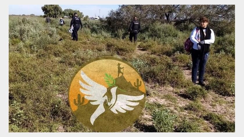 Buscadoras Por la Paz realizan tétrico hallazgo al Sur de Hermosillo(Facebook)