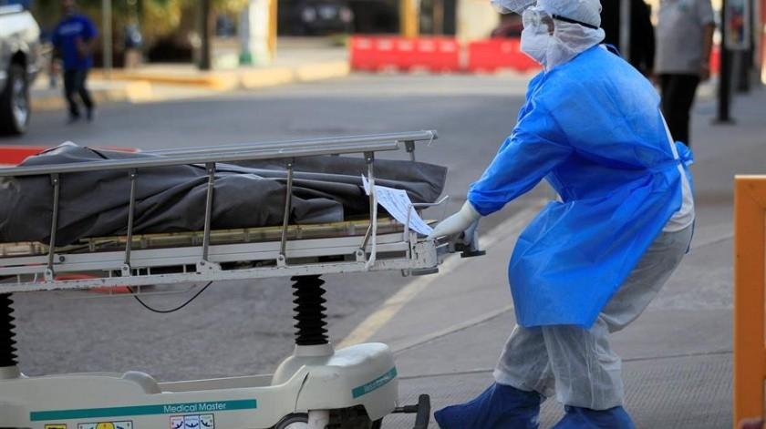 Covid-19 en México: 550 muertes y 6 mil 719 nuevos casos al corte de hoy(EFE)