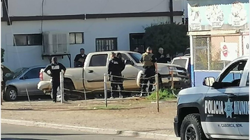 Mujer muere arrollada por detenidos en Caborca, intentaban huir de la policía(GH)