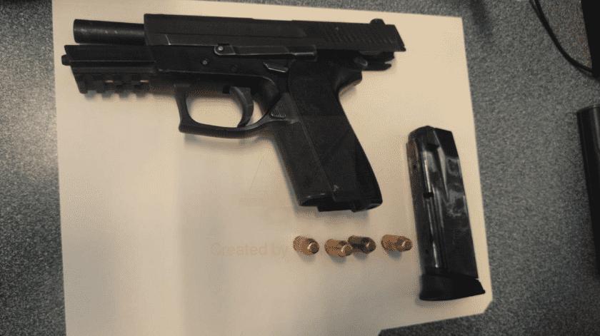 Con arma robada en Estados Unidos disparaban en Mexicali(Cortesía)