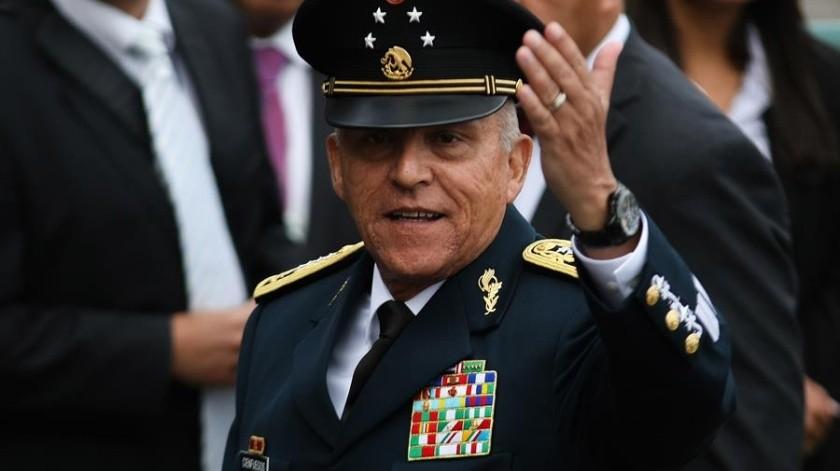 Las autoridades estadounidenses desestimaron repentinamente los cargos contra Salvador Cienfuegos, exministro de defensa de México.(EFE)