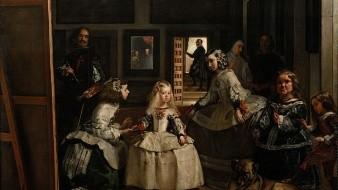 El cuadro de Velázquez, ha sido objeto de numerosas interpretaciones que van más allá de la escena palaciega que parece representar.