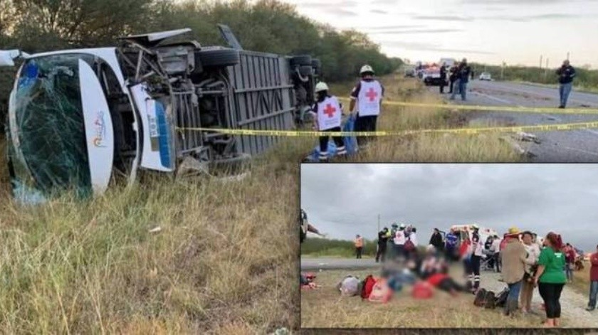 El accidente de miembros de Frenaaa dejó un saldo de un muerto y 21 heridos(Especial)
