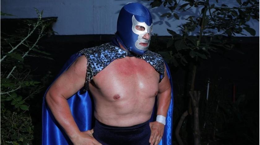 Blue Demon Jr. se unió al nuevo partido RSP.(Agencia Reforma)