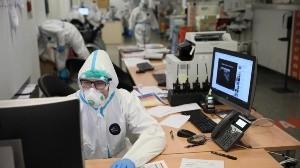 Los códigos QR se pueden leer con teléfonos móviles y se han utilizado en China durante la pandemia.