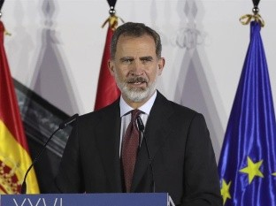 El monarca español suspendió todas las actividades que tenía programadas durante ese período en el que estará aislado.