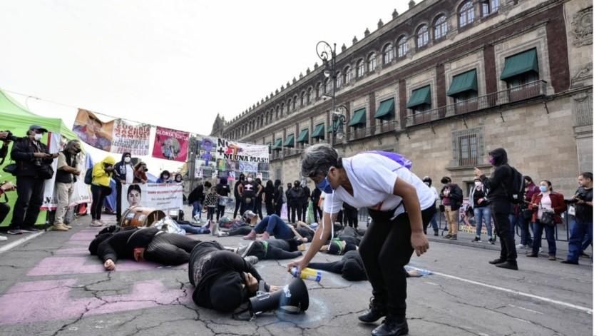México registró el año pasado 34 mil 608 homicidios dolosos y mil 12 feminicidios, los datos más elevados desde que hay registros.