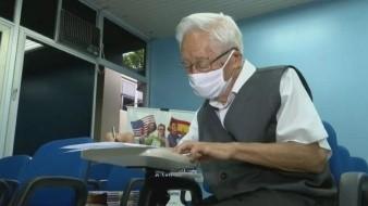 El abuelito Antônio Tonouti a sus 82 años aspira estudiar Medicina