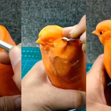 Hizo La Escultura De Un Ave Usando Una Zanahoria Se Volvio Viral El Imparcial Noticias De Mexico Y El Mundo 100 g de zanahorias frescas contienen. ave usando una zanahoria