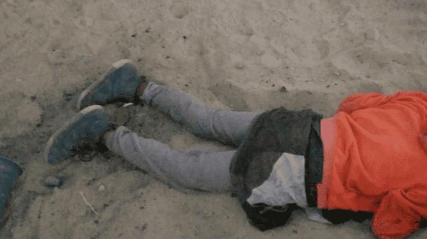 Hallan muerto a hombre en playa de San Felipe(Cortesía)