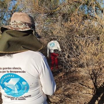 Buscadores de La Paz encuentran 6 cuerpos este día en cerros de Altares; en total son 14