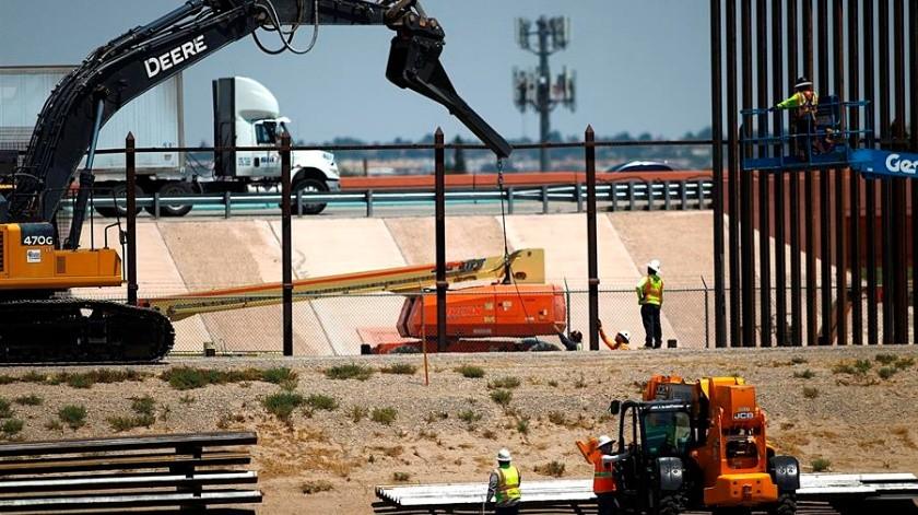 Por muro, Trump ordenó compra de 21.5 km de tierra privada(EFE)
