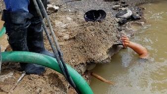 Desperfecto en tubería deja sin agua a colonias del Poniente de Hermosillo