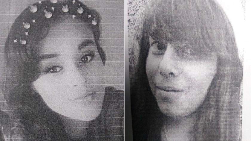 Karla Margarita Gómez Sarabia y Laura Cecilia Armendáriz Romero son las jóvenes desaparecidas.(Cortesía)