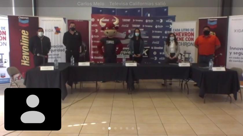 Toros de Tijuana anuncia carrera virtual(Cortesía)