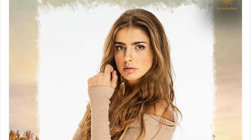 "Michelle Renaud y su novio Danilo Carrera protagonizan la telenovela ""Quererlo Todo"".(Tomada de la red)"