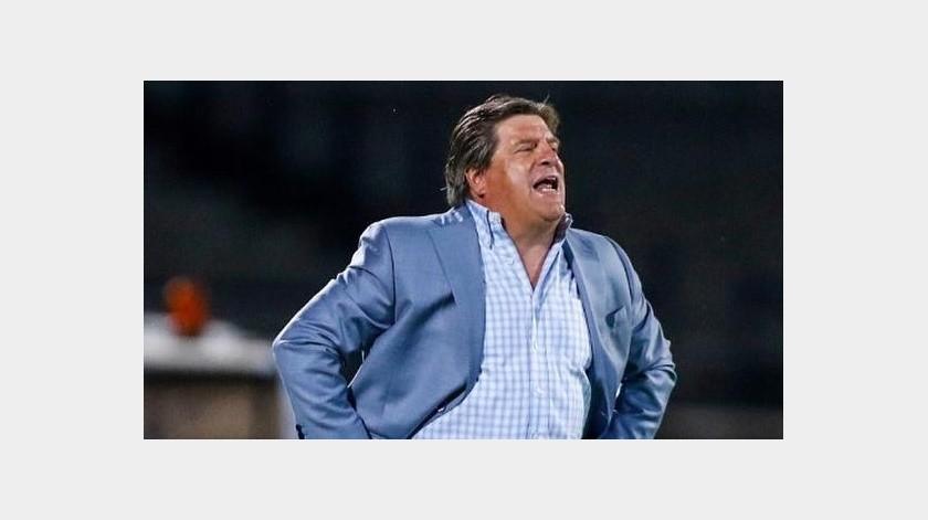 """El """"Piojo"""" Herrera se siente atraído con el plan de dirigir a la Selección de Colombia(Instagram @miguelherreradt)"""