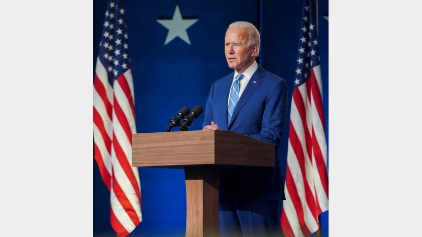 Joe Biden, Presidente electo de EU.(FB oficial. Imagen archivo)