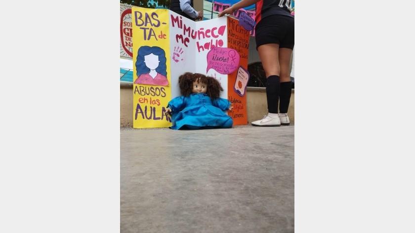 La Red Feminista Sonorense realizará una serie de actividades por el Día Internacional de la Eliminación de la Violencia contra la Mujer.(Jesús Palomares)
