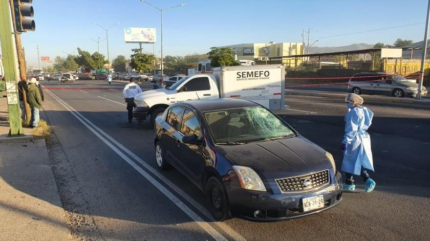 El accidente ocurrió en la mañana de hoy, entre las 7:00 y 8:00 horas.(Especial)