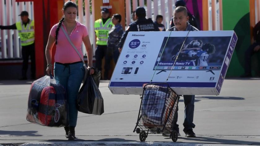 """Los comerciantes consideran que las ventas del """"Black Friday"""" serán menores en comparación con otros años.(Sergio Ortiz)"""