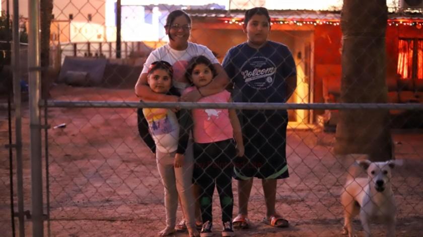 Sólo quiere pasar la Navidad junto con su familia(Daniel Reséndiz)