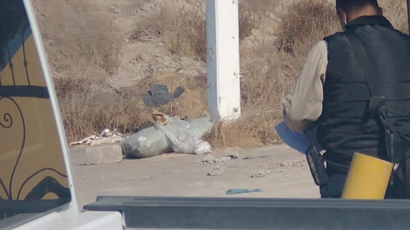 Arrojan cadáver en lote baldío de la colonia La Joya(Margarito Martínez)