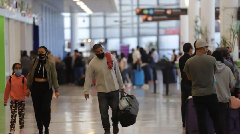 De enero a octubre de este año, se registraron en total 4 millones 944 mil 600 pasajeros en el aeropuerto de Tijuana