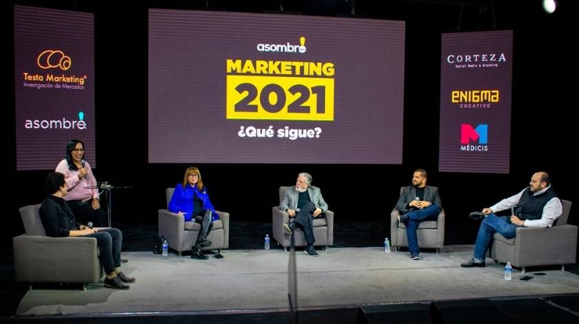"""Panel """"Marketing 2021 ¿Qué sigue?"""", organizado por Asombro Marketing."""